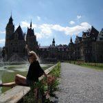 Fotoserie mit Ann_Model – Schloss Moschen